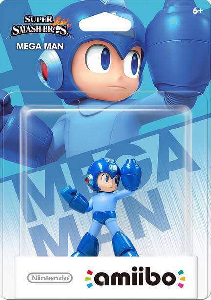 World of Nintendo Amiibo Mega Man Mini Figure by Nintendo