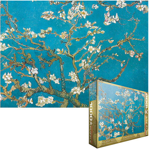 van Gogh Almond Branches Jigsaw Puzzle, 1000 Pieces