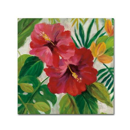 - Trademark Fine Art 'Tropical Jewels I v2 Crop' Canvas Art by Silvia Vassileva