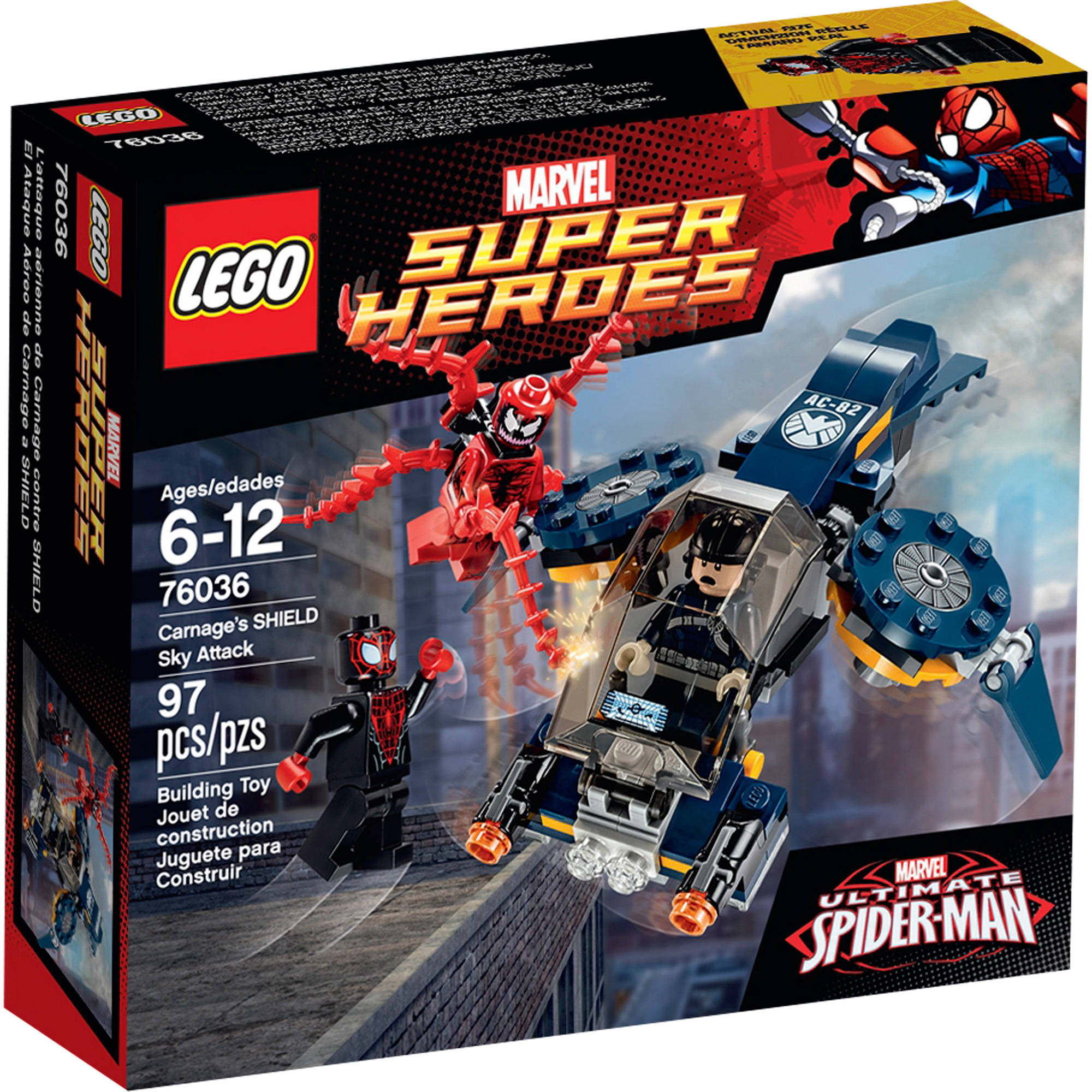LEGO Super Heroes Carnage's SHIELD Sky Attack, 76036