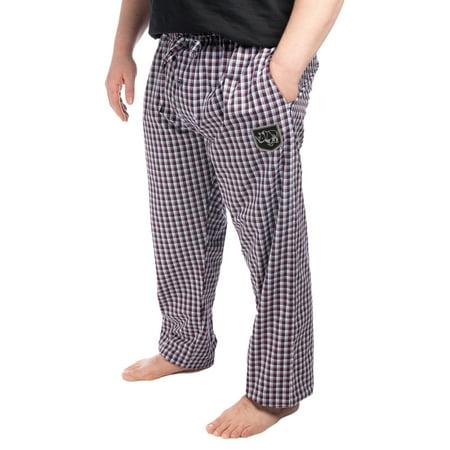 Ecko Mens Extra Large Cotton Blend XL Sleep Lounge Pajamas Pants For Men Soft Plaid Comfortable Warm