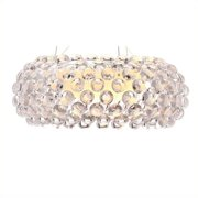 Brika Home Ceiling Lamp in Clear