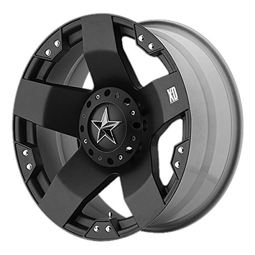 XD Series by KMC Wheels XD775 Rockstar Matte Black Wheel ...