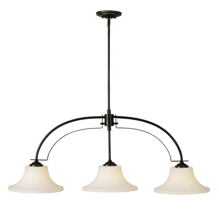 Feiss Barrington Island Light - 44W in. Oil Rubbed Bronze ()