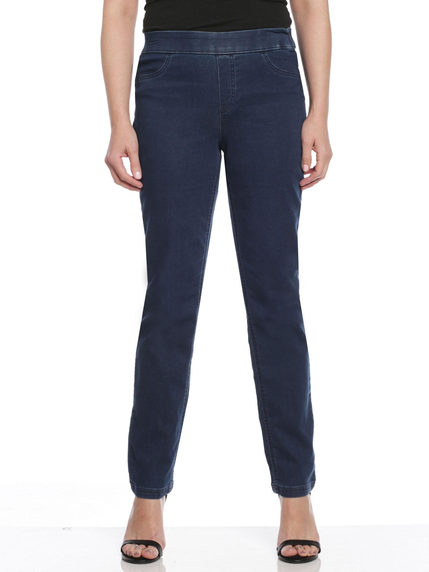 Erika Missy Joey Denim Pull-On Pants