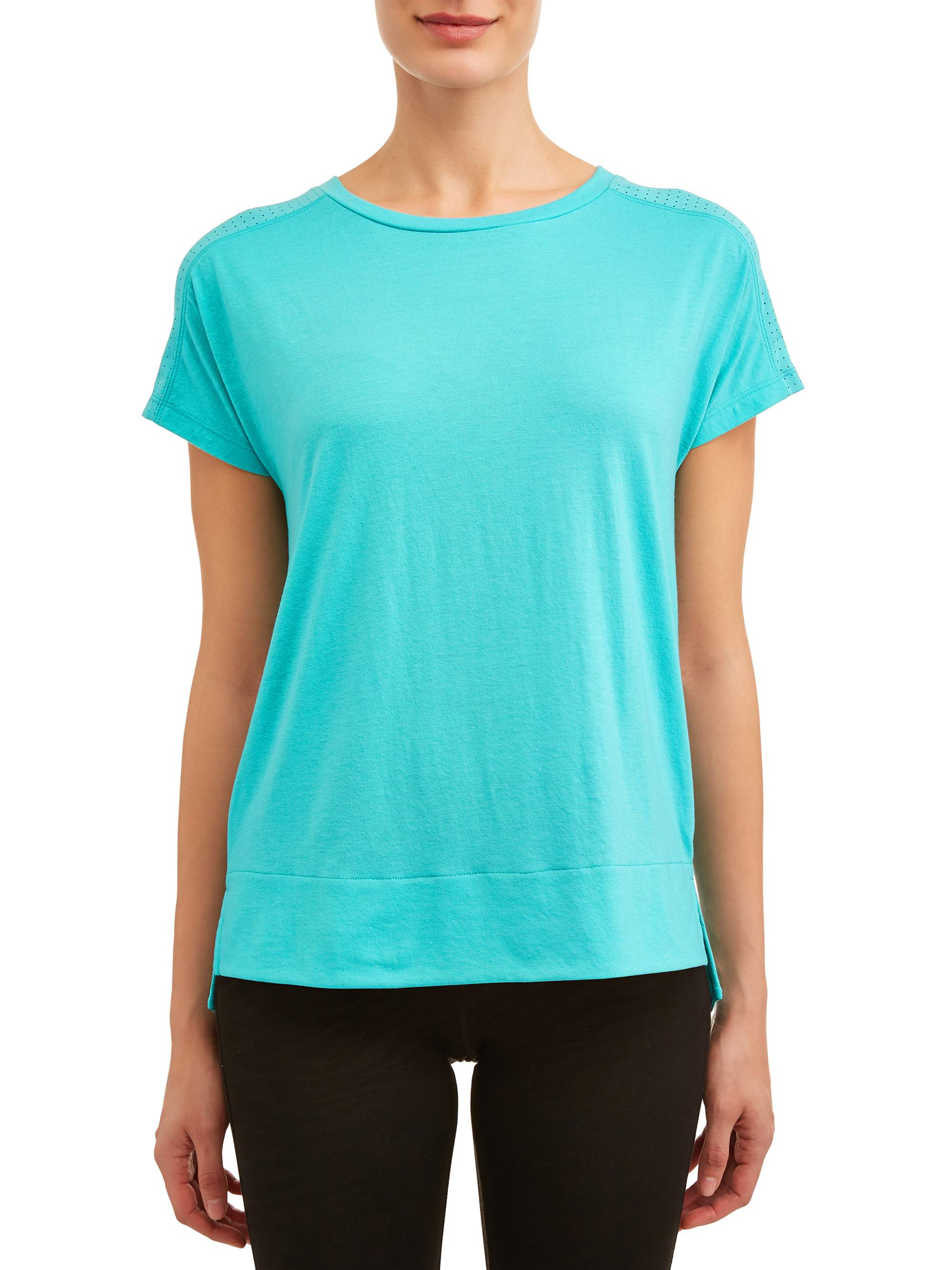 Women's Athletic Perforated Tee