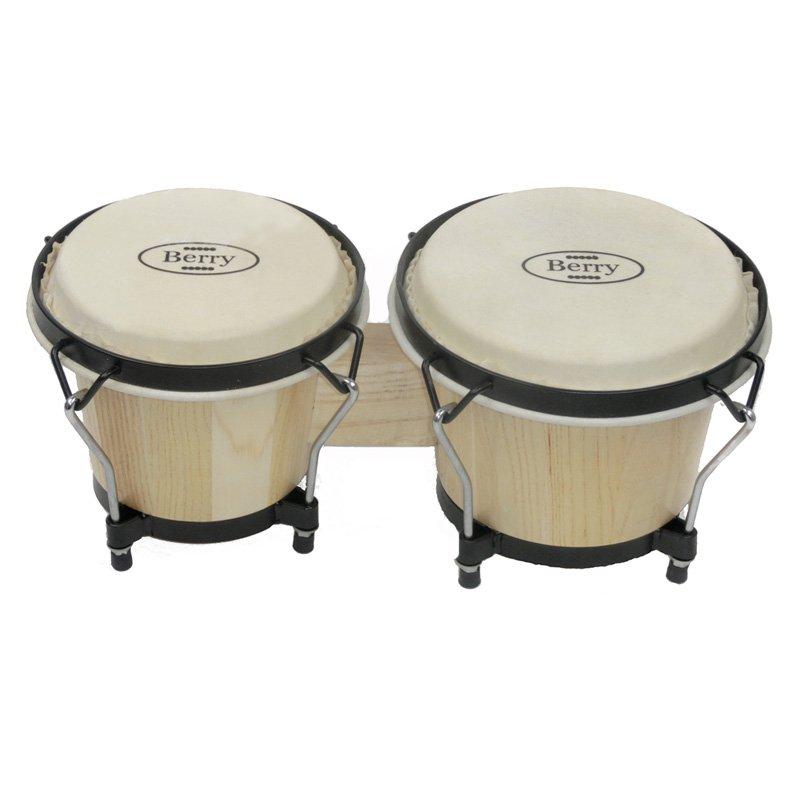 Berry Toys Natural Bongo Drums