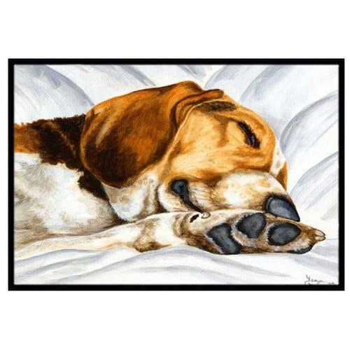 Caroline's Treasures Beagle Bliss Doormat by Caroline's Treasures