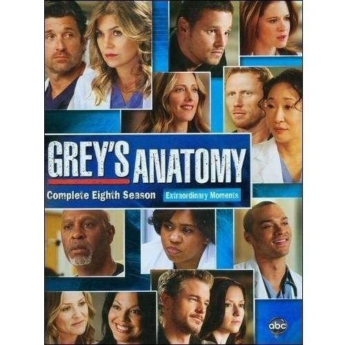 GREYS ANATOMY-8TH SEASON (DVD/6 DISC/WS/SP-FR-SUB)
