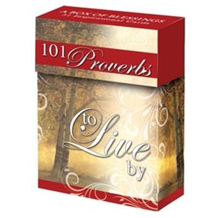 Boxes of Blessing: 101 Proverbs to Live by Cards (Other)