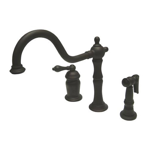 Kingston Brass Heritage Bar Faucet with Side Spray