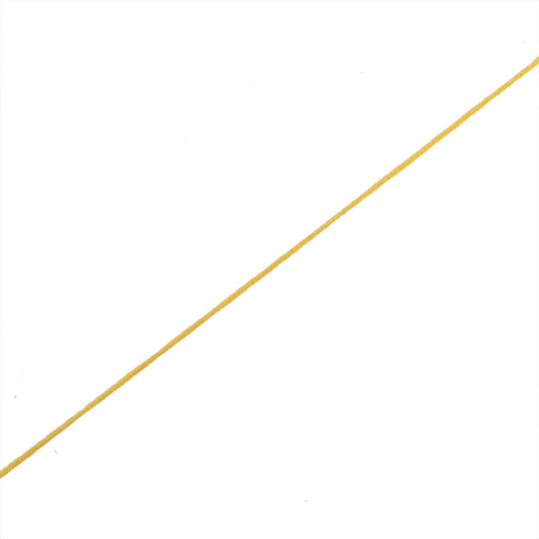 DIY Shawl Scarf Hat Glove Cord Tatting Knitting Weaving Yarn Yellow 100g 2pcs - image 1 of 3