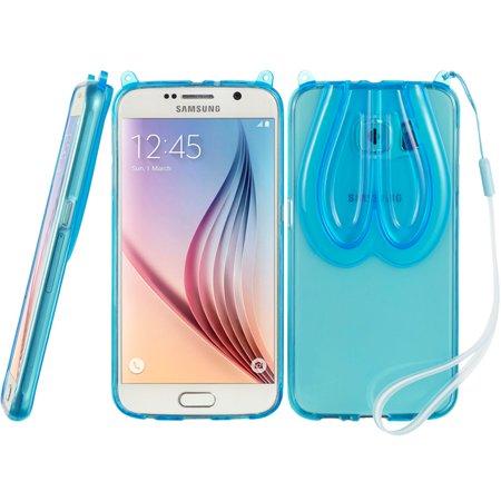 Samsung Galaxy S6 Bunny Ear TPU - Blue Bunny Ears