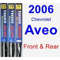 2006 Chevrolet Aveo Wiper Blade Set/Kit (Front & Rear) (3 Blades) - Vision Saver