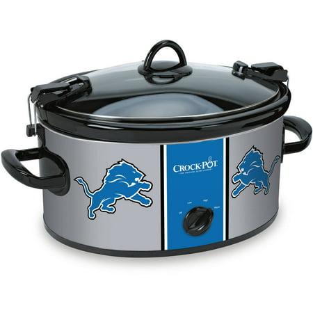 Crock-Pot NFL 6-Quart Slow Cooker, Detroit Lions