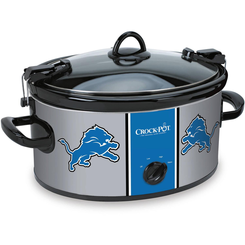 Crock-Pot 6 Quart NFL Detroit Lions Slow Cooker, 1 Each