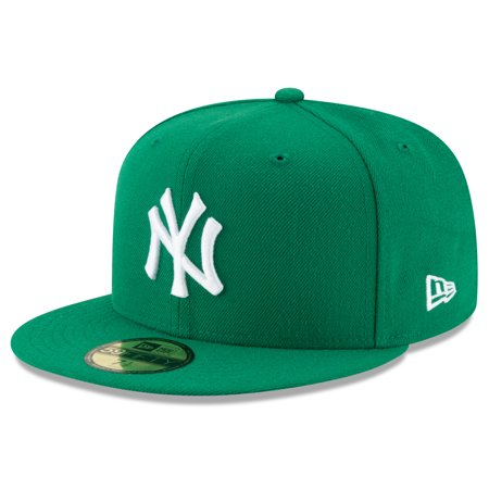 New York Yankees New Era Fashion Color Basic 59FIFTY Fitted Hat - Green