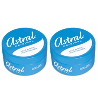 Pack of 2 Astral Original Moisturising Face & Body Cream 50ml 1.69 Oz