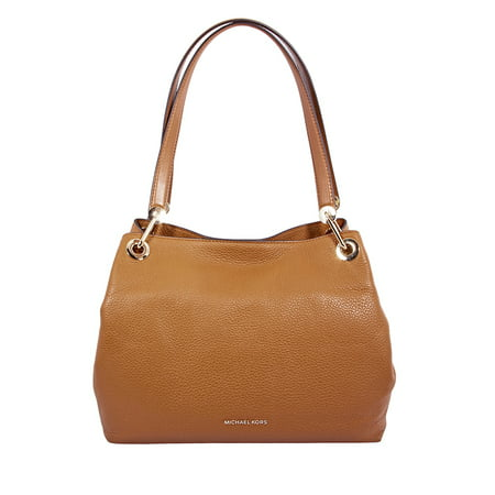 Michael Kors Raven Large Leather Shoulder Bag- Acorn
