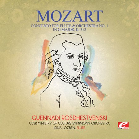 Mozart   Concerto For Flute   Orchestra No  1 In G Major K   Cd