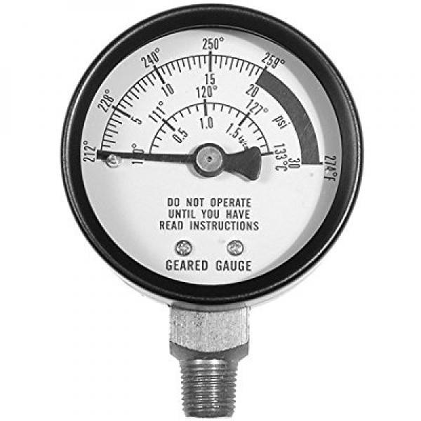 All American 72 Pressure Cooker Steam Gauge by