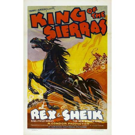 King of the Sierras Poster Movie 27 x 40 In - 69cm x 102cm Hobart Bosworth Harry Harvey Harry Harvey Jr. Jim (Kids Hobart)