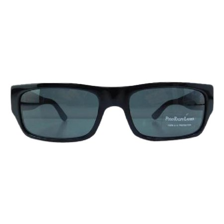 Polo Ralph Lauren Black Label (New Polo Ralph Lauren POLO 4040 5001/87 Black Plastic Sunglasses 56mm)