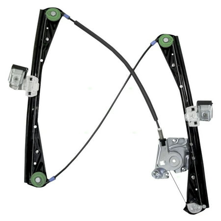 Passengers Front Power Window Lift Regulator Replacement