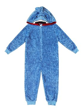Jellifish Kids Boy's Printed Pajama Blanket Sleeper Sizes 4-16