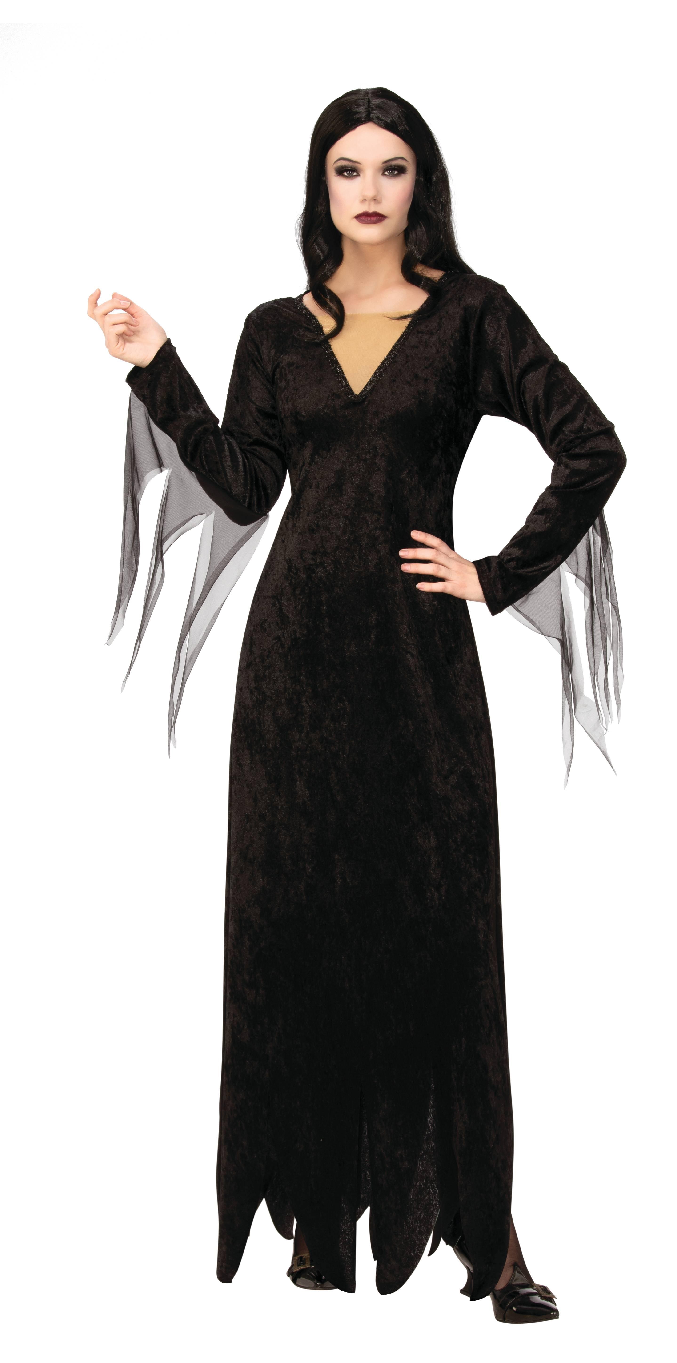 Midnight Raven Womens Adult Black Angel Of Death Costume