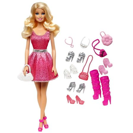 Barbie Doll and Shoes Giftset