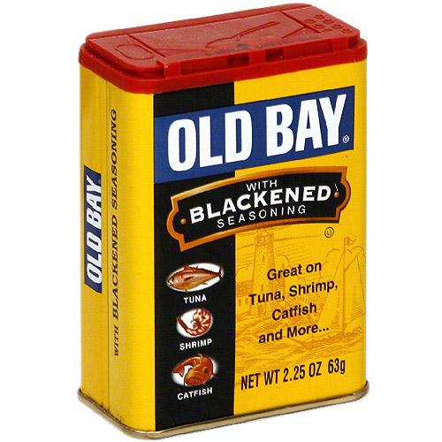 Old Bay Blackened Seasoning, 2.25 oz (Pack of 12)