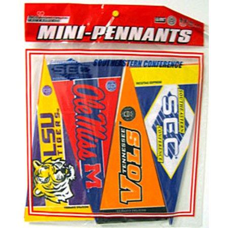 SEC Mini Pennant Set