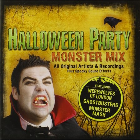Halloween Party Monster Mix By Halloween Party Monster Mix Artist Format Audio CD Ship from US (Michael Jackson Halloween Mix)