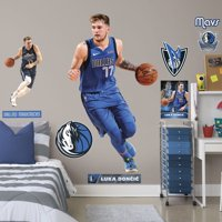 Fathead Luka Doncic - Life-Size Officially Licensed NBA Removable Wall Decal