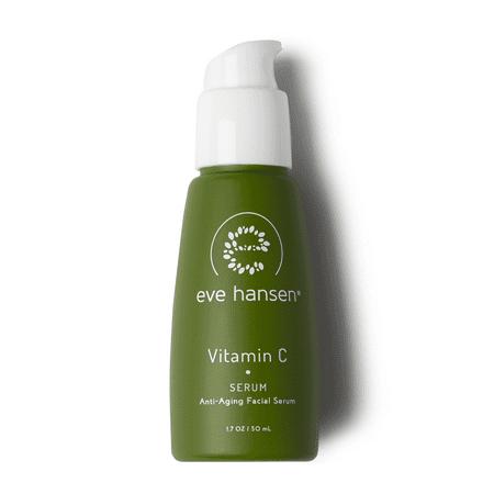 Eve Hansen Dermatologist Tested Vitamin C Serum For Face - Premium Hypoallergenic Anti-Aging Serum, Dark Spot Corrector and Hyperpigmentation Treatment Facial Serum - 1.7