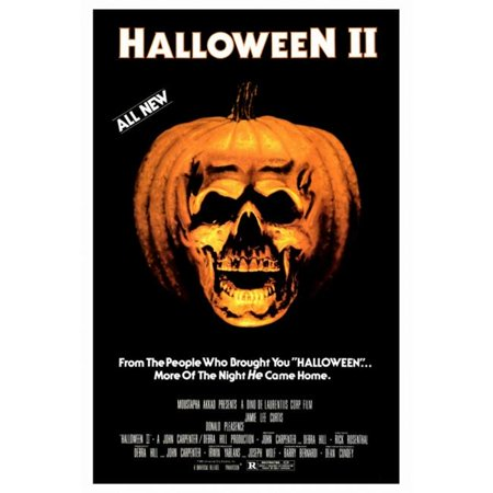 Pop Culture Graphics MOVIF0168 Halloween 2 - The Nightmare Isnt Over Movie Poster Print, 27 x 40 - 2017 Pop Culture Halloween