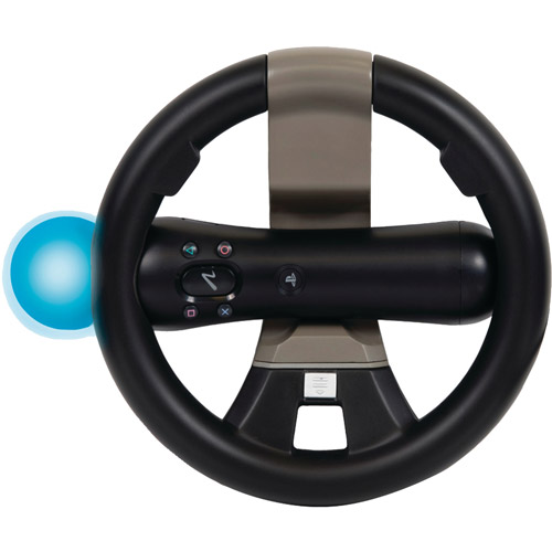 CTA Playstation Move and Dualshock Controller Racing Wheel (PS3)