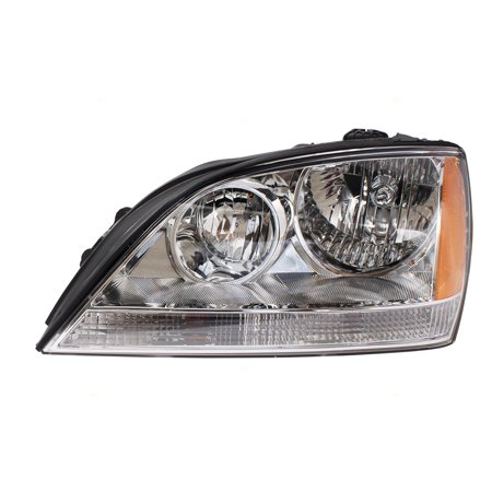 Toyota 4runner Suv (Drivers Composite Headlight Headlamp Replacement for 90-95 Toyota 4Runner SUV 8115035100 )