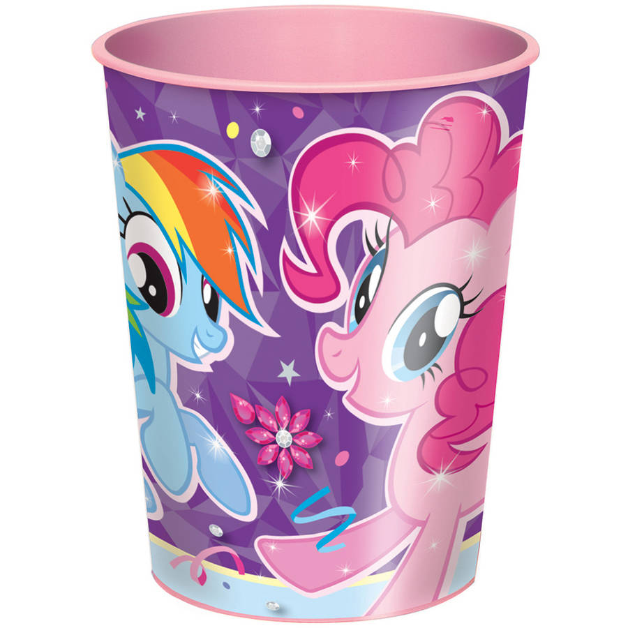 16oz My Little Pony Plastic Cup