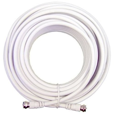 Wideskall® 100 Feet RG59 RV Coaxial Cable White