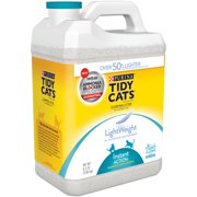 Purina Tidy Cats LightWeight Clumping Litter Instant Action for Multiple Cats 8.5 lb. Jug