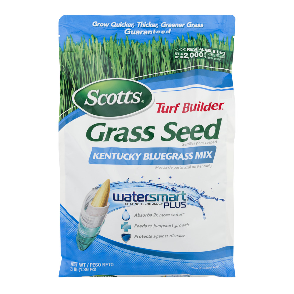 Scotts Turf Builder Kentucky Bluegrass Mix, 3 lbs