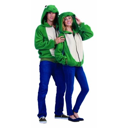 Freddy Frog Hoodie Adult Costume](Freddy Mercury Costumes)