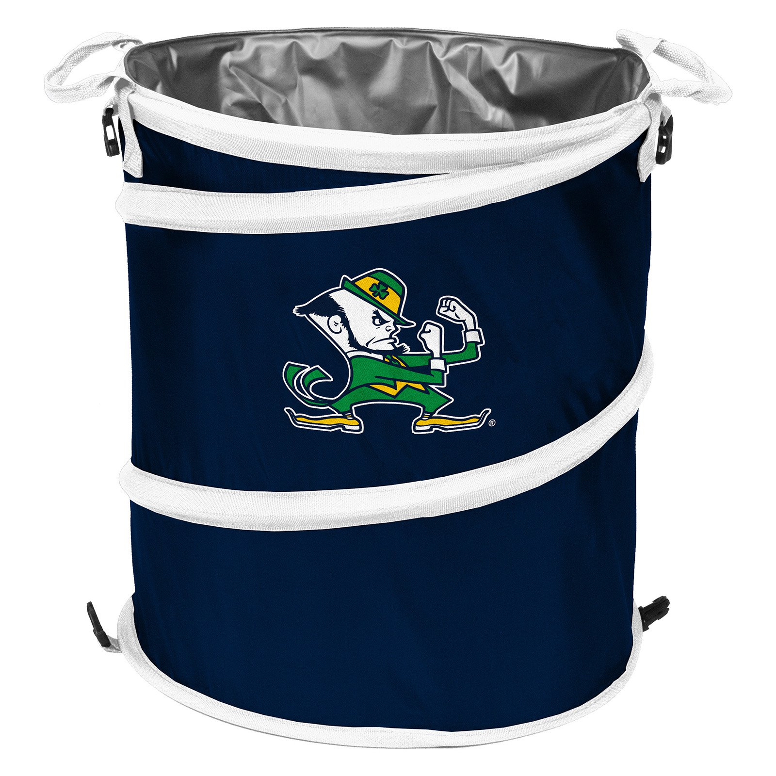 Notre Dame Fighting Irish Navy/White Collapsible 3-in-1