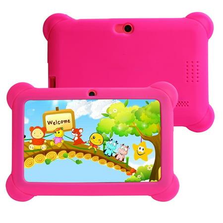 DZT1968® Kids Tablet PC 7 Android 4.4 Case Bundle Dual Camera 1.2Ghz Wi-Fi Bonus