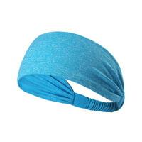 iLH New Wide Sports Headband Stretch Elastic Yoga Running Headwrap Hair Band