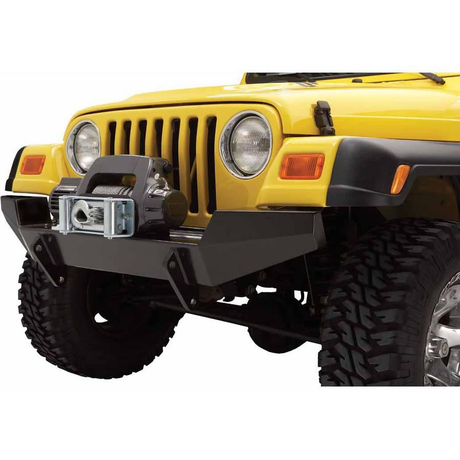 Bestop 44910-01 Wrangler 2-Door/4-Door Highrock 4X4 Front Bumper, Full-Width Profile