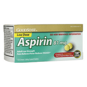 Good Sense Aspirin Low Dose 81 mg 120 Tabs
