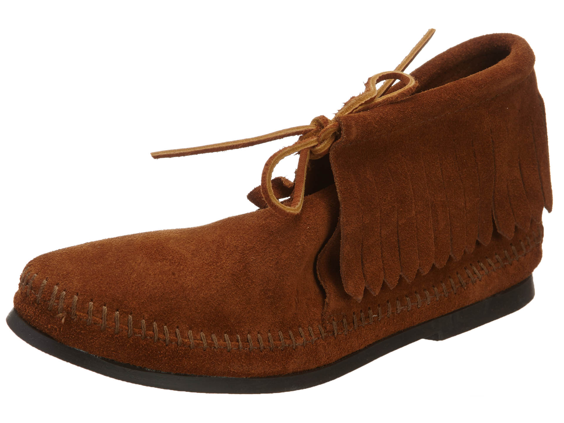 Minnetonka Moccasin classic fringe boot style no.:682 by